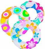 Круг пляжный надувной 52 см микс цветов Jilong 47220