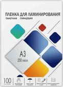 Пленка для ламинирования Гелеос LPA3-250, 303 х 426, 250 мкм, 100 шт