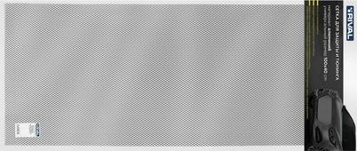 Сетка для защиты радиатора Rival, универсальная, 100 х 40 см, R10, цвет: черный