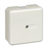 Коробка соединительная IP65 87Х87Х40 10 сальников, белая RAL9003 Schneider Electric, IMT34349