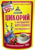 Цикорий натуральный с брусникой Здоровье, 100 г