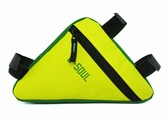 Велосумка под раму B-SOUL жёлто-зеленая