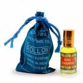Индийские масляные духи Прочие производители NAG CHAMPA Natural perfume oil (Натуральное парфюмерное масло НАГ чампа, ролик), 5 мл.