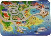 Teplokid, Детский ультрамягкий игровой коврик На пляже