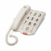 Телефон домашний проводной RITMIX RT-520 Ivory