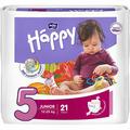Подгузники BELLA BABY HAPPY 5 Junior 12-25 кг 21 штука (BB-054-JU21-012)