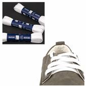 Шнурки Saphir (плоские, 10мм) (Цвет-21 Белый Размер-180 см)