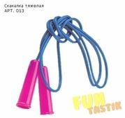 Скакалка Нордпласт спортивная гимнастическая облегченная 250 см