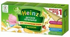Heinz печеньице детское с яблоком, с 5 месяцев, 160 г