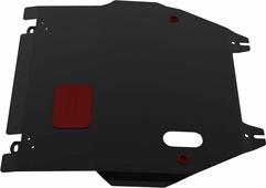 Защита картера и КПП Автоброня для Honda Jazz 2004-2008, сталь 2 мм, с крепежом. 111.02106.1
