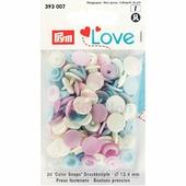 Кнопки Color Snaps пластик 30 шт разноцветные Prym Love 393007