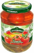 """Овощные консервы Луговица """"Томаты в заливке"""", с зеленью, 720 г"""
