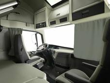 Комплект автоштор Эскар Blackout - auto LK, серый, 2 шторы 240 х 100 см, 2 подхвата, гибкий карниз 5 м