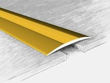 Порог алюминиевый 332802Н, золото 135 см