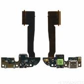 Шлейф HTC One M8 плата на системный разъем/разъем гарнитуры/микрофон