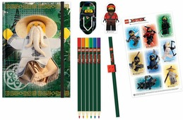 LEGO NINJAGO Набор канцелярских принадлежностей 12 предметов 51890