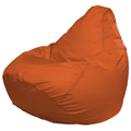 Кресло-мешок FLAGMAN Груша Макси оранжевый (Г2.1-10)
