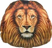 "Подушка на подголовник Gift n Home ""Лев"", цвет: коричневый, оранжевый, 30 х 31 см"