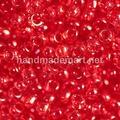 Чешский бисер Preciosa 10/0 круглый Красный, (90070)