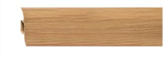 Плинтус напольный пластиковый Grace Technical Т08 Ильм