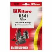 мешки для пылесосов Electrolux, Philips, AEG, Bork, Filtero FLS 01 (S-bag) Standard, (5 штук) FLS 01