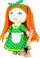 """Набор для изготовления игрушки Перловка """"Хозяюшка"""", 904697, высота 15,5 см"""