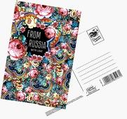 "Почтовая карточка Дарите Счастье ""From Russia with love"", 10 х 15 см"