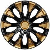 """Колпаки на колеса LION """"волтек"""", R14, вид карбон, комплект 2 шт"""