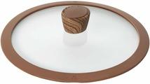 """Крышка для посуды Nadoba """"Greta"""", с силиконовым ободом. Диаметр 24 см"""