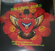 "Killing Joke ""Killing Joke - Malicious Damage - Live At The Astoria (2LP red)"""