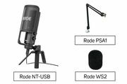 Rode NT-USB + Rode PSA1 + Rode WS2
