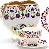 Чайная пара Loraine LR 26619 4 пр.