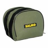 "Чехол для катушек ""Salmo"", цвет: зеленый, 18 см х 15 см х 15 см"
