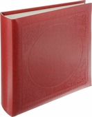 """Фотоальбом Pioneer """"Glossy Leathern"""", 200 фотографий, цвет: красный, 10 x 15 см"""