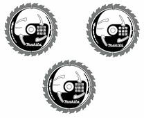 Пильные диски комплект 3шт. 160x20/16мм 16-24-40 зубов D-46333