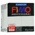 """Полимерная глина Fimo """"Professional"""", цвет: белый, 85 г"""