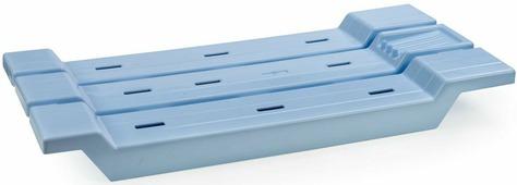 """Сиденье в ванную """"Berossi"""", цвет: голубой, 68,8 х 31 х 6,8 см"""