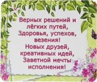 Магнит сувенирный Miland Верных решений и легких путей, Т-3317, мультиколор