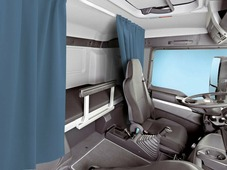 Комплект автоштор Эскар Blackout - auto S, синий, 2 шторы 120 х 160 см