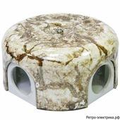 Ретро коробка Lindas, мрамор, 90 мм
