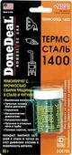 """Герметик Done Deal """"Термосталь 1400"""", сверхпрочный, ремонтный, 85 г. DD 6799"""