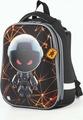 Ранец для мальчика Brauberg Premium U.F.O, с брелоком, черный, 17 л