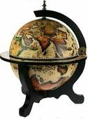 Настольный глобус-бар Brigant d=33 см, 40*40*50 см 47212