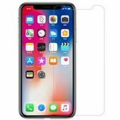 Защитное стекло для Apple iPhone X Ainy Econom Glass на весь экран противоударное, чёрное