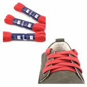 Шнурки Saphir (плоские, 10мм) (Цвет-11 Красный Размер-120 см)