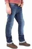 Мотобрюки мужские Starks Python Stretch, цвет: синий. Размер XL