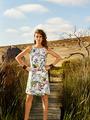 Электронная выкройка Burda - Платье А-силуэта с отделочными планками 4
