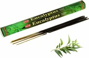 Угольные благовония Hem Incense Sticks EUCALYPTUS (Благовония эвкалипт Хем), уп. 20 палочек.