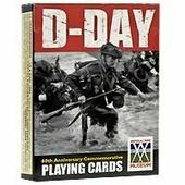 """Карты игральные коллекционные Piatnik """"D-Day"""", 55 карт"""