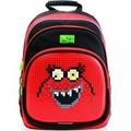 4ALL Kids Рюкзак школьный, черно-красный